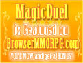 MagicDuel is featured game on BrowserMMORPG com