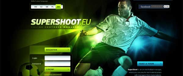 SuperShoot football manager