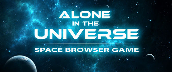 Alone in the Universe