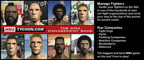 MMA Tycoon Game preview