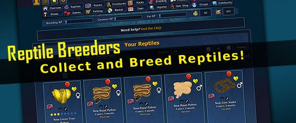 Reptile Breeder Game