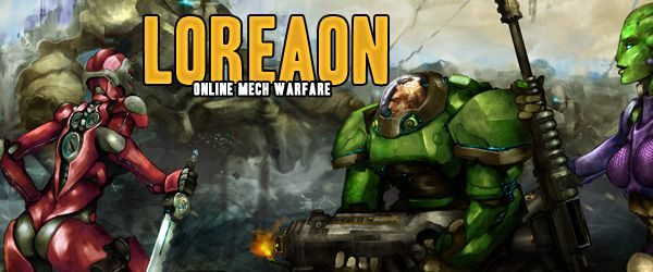 Loreaon Online Mech Warfare