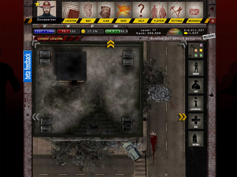 Zombie Browser Game