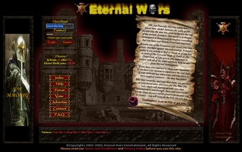 Reviews for Eternal Wars browser game