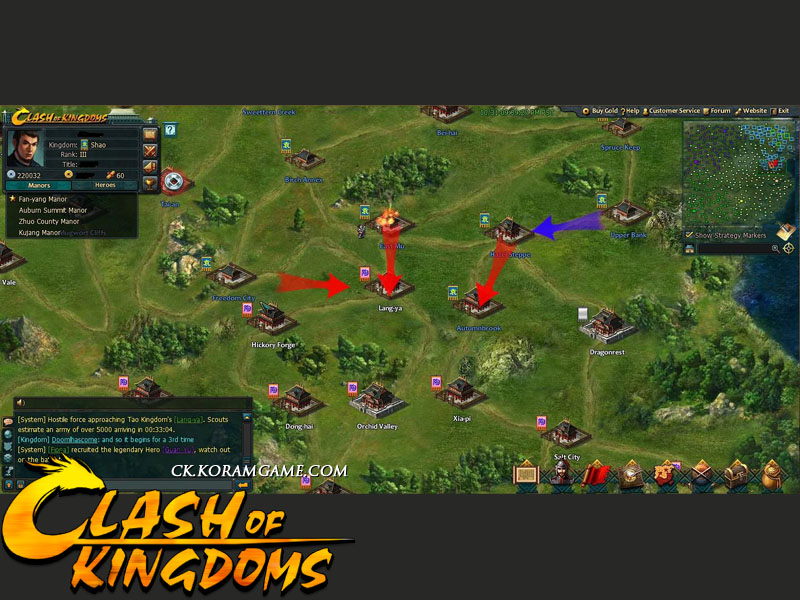 Reviews For Clash Of Kingdoms Browser Game