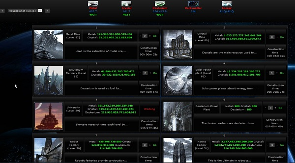 Reviews for Ogame Private -- Corrado-Game browser game